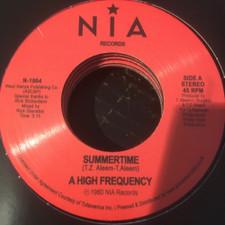 "A High Frequency - Summertime - 7"" Vinyl"
