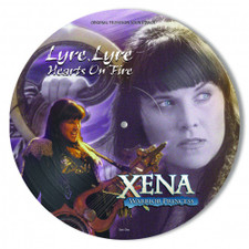 Xena: Warrior Princess - Lyre, Lyre Hearts On Fire - LP Picture Disc Vinyl