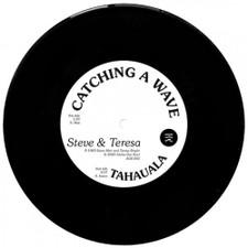 "Steve & Teresa - Catching A Wave - 7"" Vinyl"