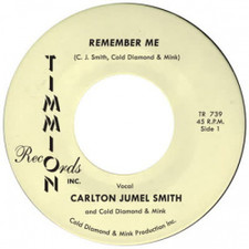 "Carlton Jumel Smith - Remember Me - 7"" Vinyl"