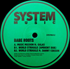 "Babe Roots - Music Mission - 12"" Vinyl"