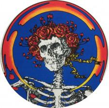 The Grateful Dead - Skull & Roses - Single Slipmat