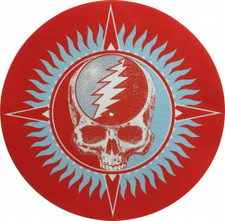 The Grateful Dead - 30 Trips Red - Single Slipmat