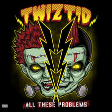 """Twiztid - All These Problems RSD - 10"""" Colored Vinyl"""