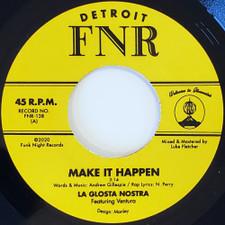 "La Glosta Nostra feat. Ventura - Make It Happen - 7"" Vinyl"