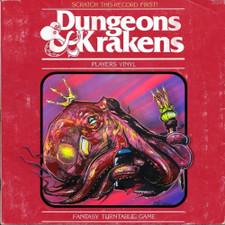 "DJ Because & DJ Efechto - Dungeons & Krakens - 7"" Colored Vinyl"