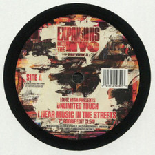 "Louie Vega Presents Unlimited Touch - I Hear Music In The Streets - 7"" Vinyl"