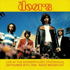 The Doors - Live At The Stockholm Konserthuset Sept 20th, 1968 - 2x LP Vinyl