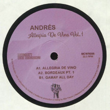 "Andres - Allegria de Vino Vol. 1 - 7"" Vinyl"