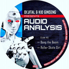 "Di'jital & Kid Ginseng - Audio Analysis - 12"" Vinyl"