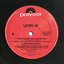"Level 42 - Children Say / Starchild / Platinum Edition Megamix - 12"" Vinyl"