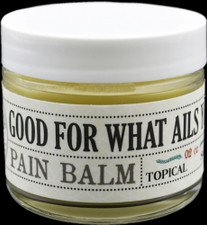 Good For What Ails You - Hemp Salve - Organic Balm For Pain Relief - 250mg