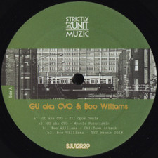 "GU aka CVO & Boo Williams - Project - 12"" Vinyl"