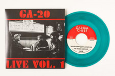 "GA-20 - Live Vol. 1 - 7"" Colored Vinyl"