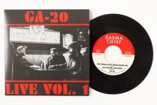 """GA-20 - Live Vol. 1 - 7"""" Vinyl"""
