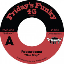"Featurecast & The Gaff - One Step / Ain't Got Time - 7"" Vinyl"
