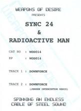 "Sync 24 / Radioactive Man - Downforce - 12"" Vinyl"