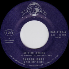 "Sharon Jones & The Dap-Kings - Keep On Looking - 7"" Vinyl"