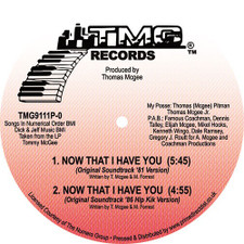 """Tommy McGee - Now That I Have You (Versions) - 12"""" Vinyl"""