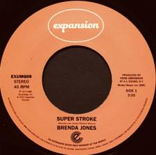 """Brenda Jones - Super Stroke / Big Mistake - 7"""" Vinyl"""