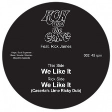 "Kon And The Gang - We Like It - 7"" Vinyl"
