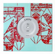 "Causa - Hiss / Palms - 7"" Vinyl"