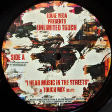 """Louie Vega Presents Unlimited Touch - I Hear Music In The Streets - 12"""" Vinyl"""