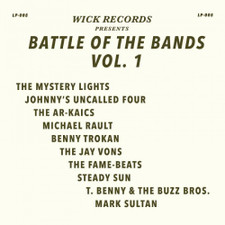 Various Artists - Wick Records Presents - Battle Of The Bands Vol. 1 RSD - LP Colored Vinyl