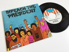 """The Sure Fire Soul Ensemble - Impeach The President - 7"""" Vinyl"""