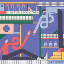 Fat Night - Live For Each Other - 2x LP Colored Vinyl