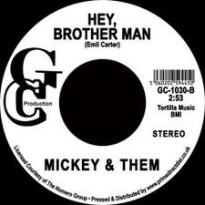 "Mickey & Them - U.F.O. / Hey, Brother Man - 7"" Vinyl"