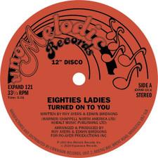 """Eighties Ladies - Turned On To You - 12"""" Vinyl"""