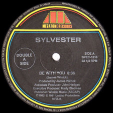 """Sylvester - Be With You / Tell Me / Sex - 12"""" Vinyl"""
