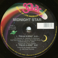 "Midnight Star - Freak-A-Zoid / Operator / No Parking On The Dance Floor - 12"" Vinyl"