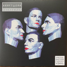 Kraftwerk - Techno Pop - LP Colored Vinyl