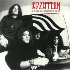Led Zeppelin - Live At Fillmore West San Francisco April 24th 1969 - LP Vinyl