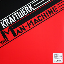 Kraftwerk - The Man•Machine - LP Colored Vinyl