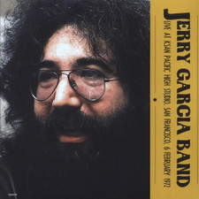 The Jerry Garcia Band - Live At KSAN Pacific High Studio, San Francisco 6 Feb 1972 - 2x LP Vinyl