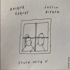 "Ariana Grande & Justin Bieber - Stuck With U (Window) - 7"" Vinyl"
