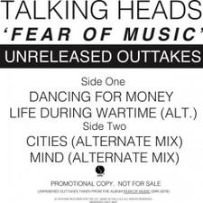"""Talking Heads - Fear Of Music Unreleased Outtakes - 12"""" Vinyl"""