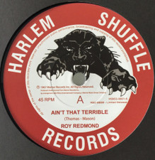 """Roy Redmond - Ain't That Terrible - 7"""" Vinyl"""