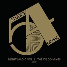 """JKriv - Night Magic Vol. 1 - The Disco Mixes 2020 - 12"""" Vinyl"""