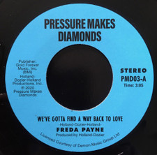 "Freda Payne - We've Gotta Find A Way Back To Love - 7"" Vinyl"