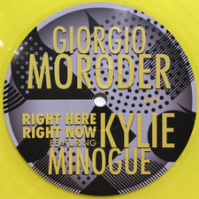 """Giorgio Moroder & Kylie Minogue - Right Here, Right Now - 12"""" Colored Vinyl"""