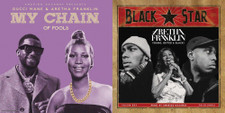 """Aretha Franklin / Black Star / Gucci Mane - Young, Gifted & Black / My Chain Of Fools - 7"""" Vinyl"""
