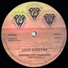 "Usje Sukatma - Waiting For Your Love - 12"" Vinyl"