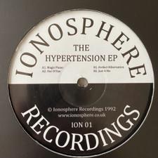 "Ionosphere - The Hypertension Ep - 12"" Vinyl"