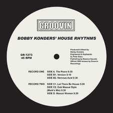 "Bobby Konders - House Rhythms - 2x 12"" Vinyl"