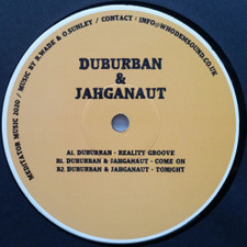 "Duburban & Jahganaut - Reality Groove - 12"" Vinyl"