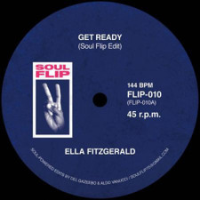 """Ella Fitzgerald / Tammi Terrell - Get Ready / Two Can Have A Party (Edits) - 7"""" Vinyl"""